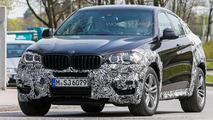 2015 BMW X6 spied near the company's headquarters