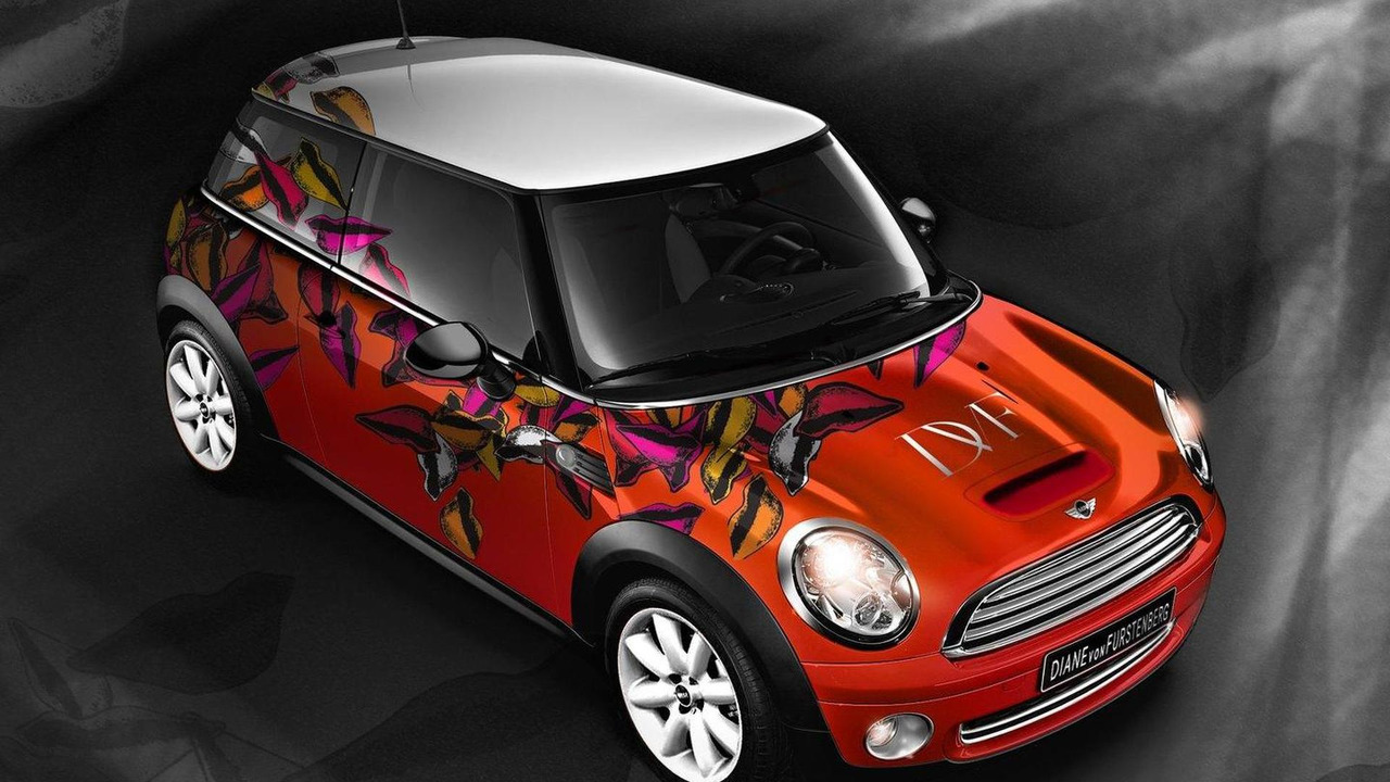 MINI Hatch designed by Diane von Furstenberg 18.06.2010
