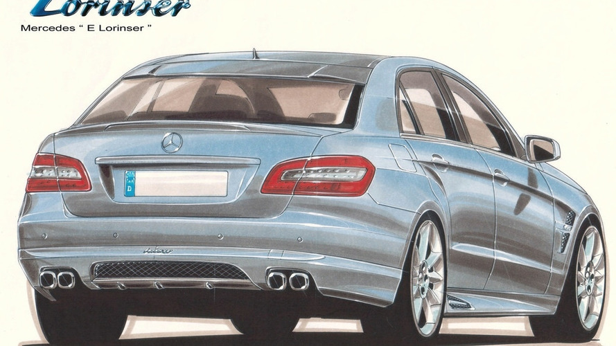 Lorinser Previews New W212 E-Class Tuning Program