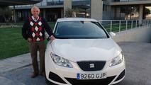 The SEAT Ibiza ECOMOTIVE and Gerhard Plattner, track record.