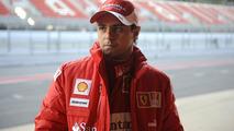 Felipe Massa, test, F2008, Circuit de Catalunya, Barcelona, Spain, 1/22/2010