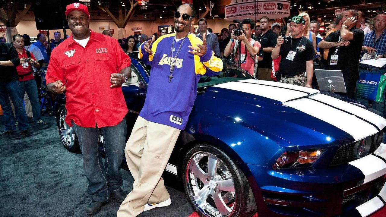Snoop Dog's Funkmaster Flex Mustang at SEMA 04.11.2010