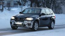 BMW X5 facelift prototype spy photos