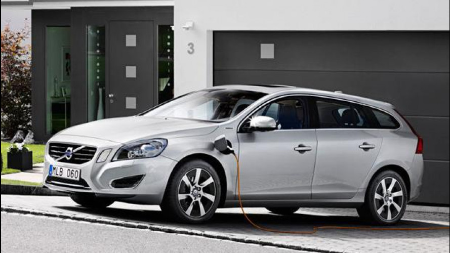 Volvo, l'auto elettrica nel 2019