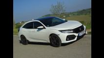 Honda Civic 1.5 VTEC Turbo, test di consumo reale Roma-Forlì