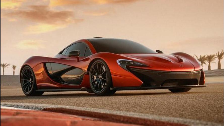 McLaren P1, nuove foto della concept