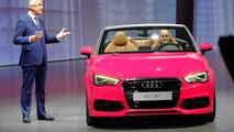 2014 Audi A3 Cabriolet live at 2013 Frankfurt Motor Show 10.09.2013