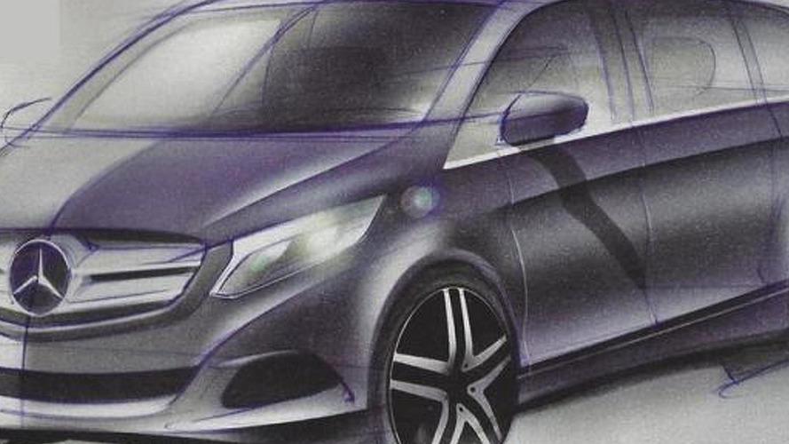 2014 Mercedes-Benz Viano design sketches leaked ?