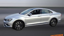 Volkswagen NMC New Midsize Coupe image leaked