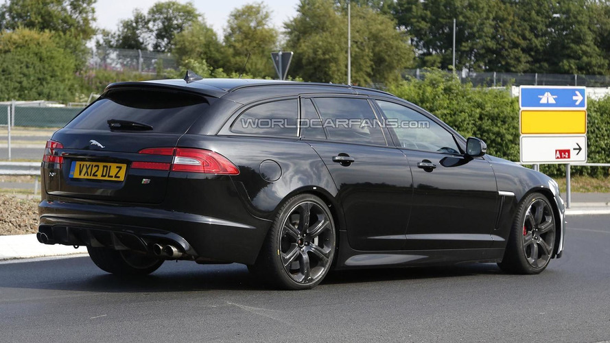 Jaguar XFR-S Sportbrake spied for the first time