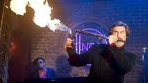 Will Ferrell plays Jazz Flute in Anchorman