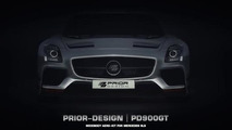 Prior Design PD900GT widebody kit for Mercedes SLS AMG