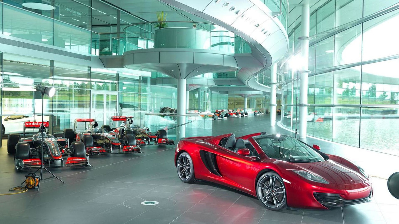 McLaren 12C Spider for Neiman Marcus Christmas Book 09.10.2012