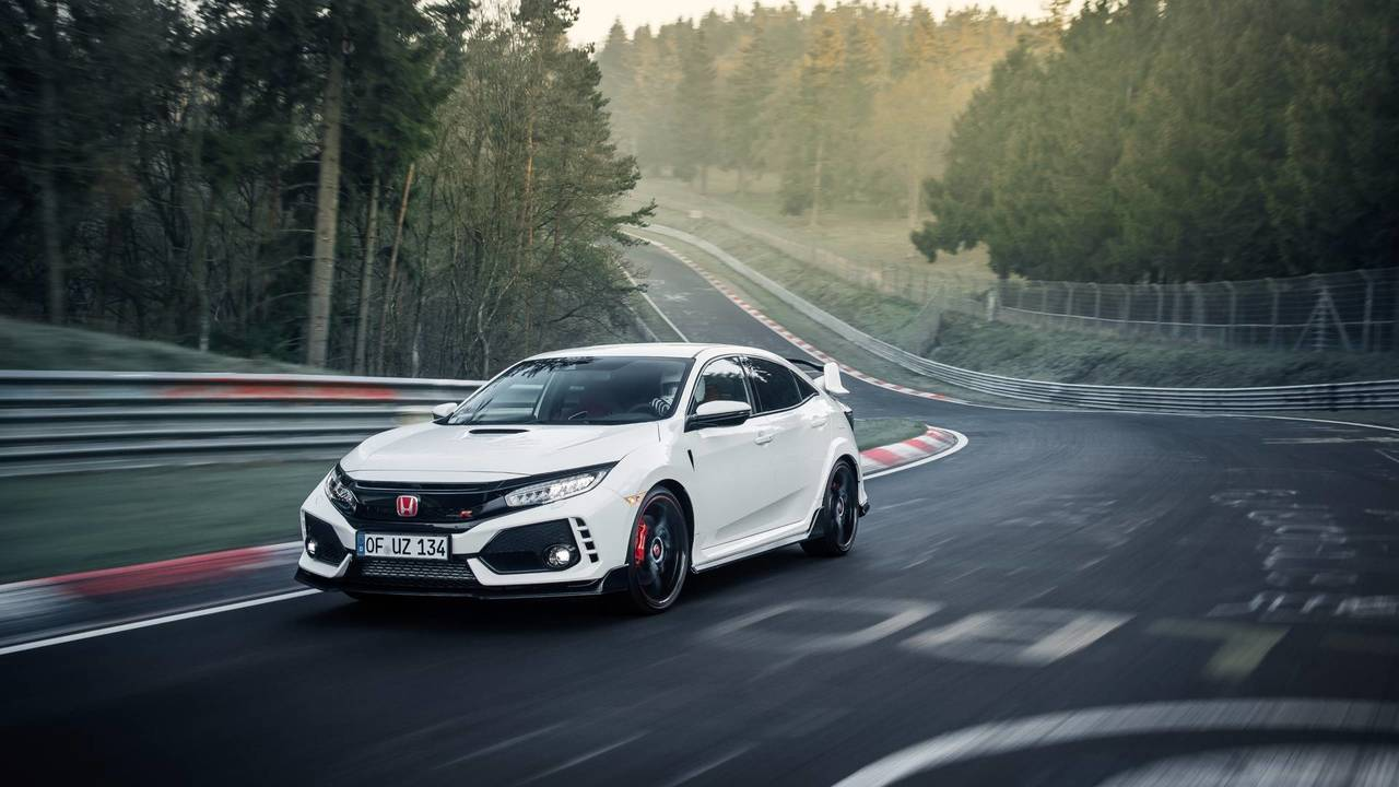 Compacte la plus rapide - Honda Civic Type R