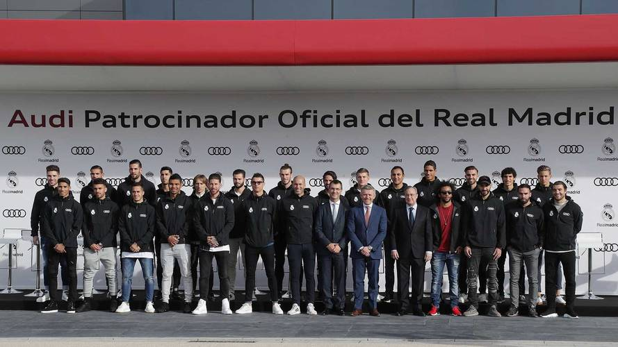 Real Madrid players receive free Audis