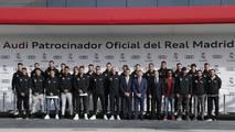Entrega de vehículos Audi a los jugadores del Real Madrid