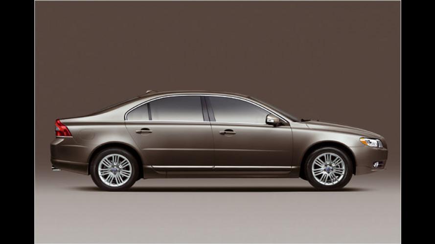 Volvo präsentiert Langversion des S80 für China