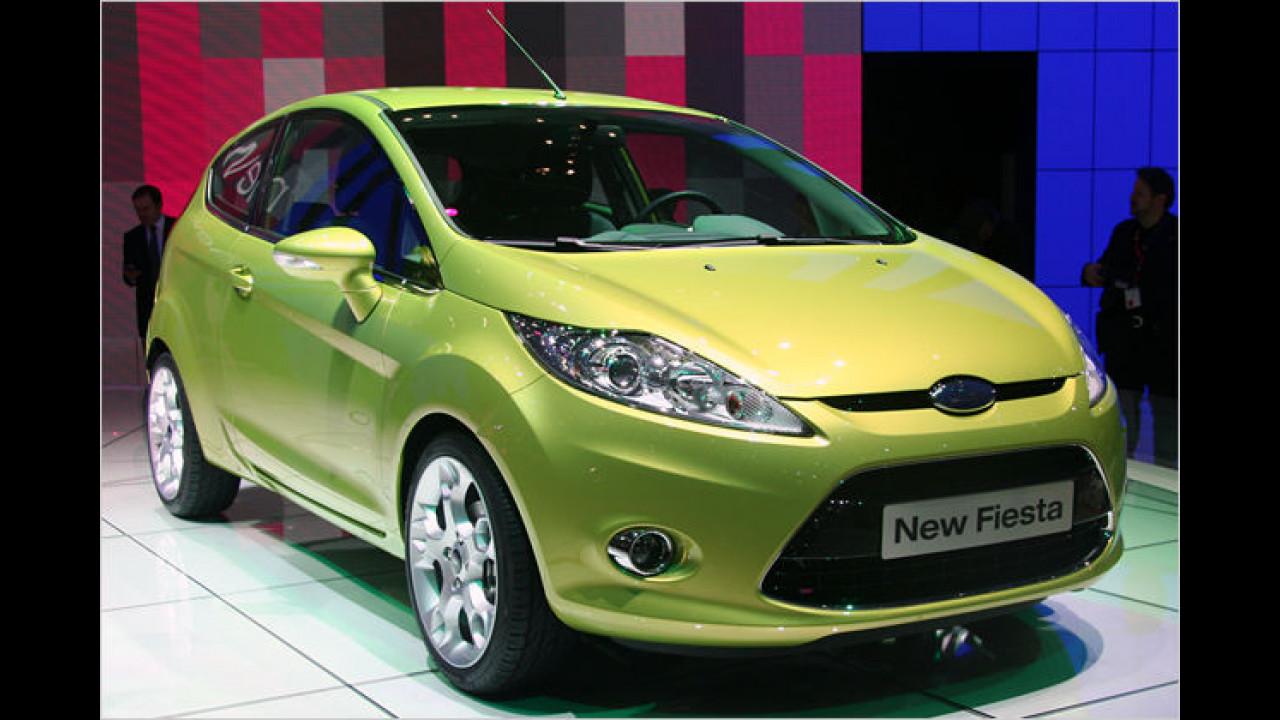 Ford Fiesta: Der neue Kleinwagen basiert auf der gleichen Plattform wie der Mazda 2