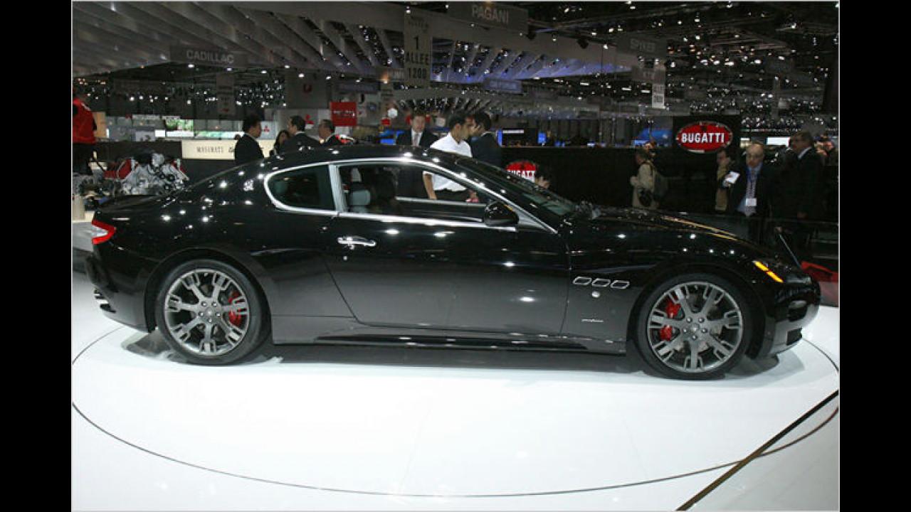 Sport-Maserati: Der GranTurismo S mit 440 PS und einem neuen Getriebe
