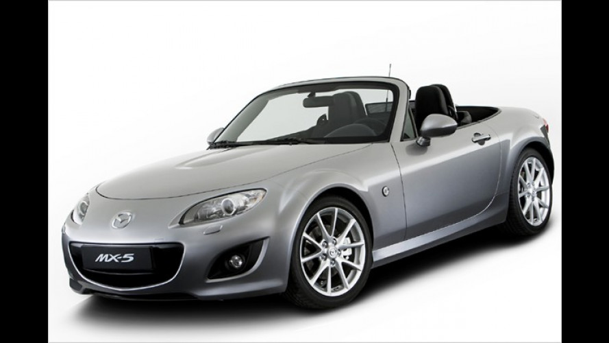 Betont unauffällig: Der Mazda MX-5 bekommt ein Facelift