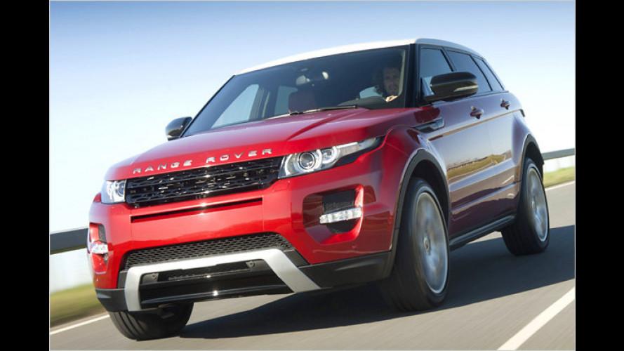 Range Rover Evoque: Die Preise beginnen bei 33.100 Euro