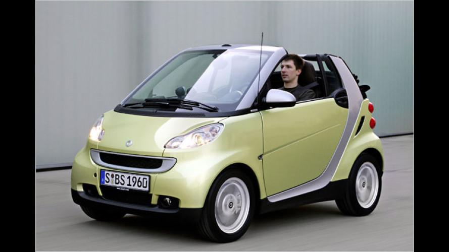 Grüner Frühlings-Smart: ,Edition Limited Three