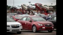 Problema no airbag obriga Chevrolet a suspender vendas do Cruze nos EUA