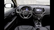 Jeep Cherokee com motor diesel e câmbio de nove marchas é revelado na Europa