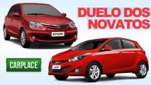 HB20 x Etios: Modelo da Hyundai começa na frente na disputa entre novatos em outubro