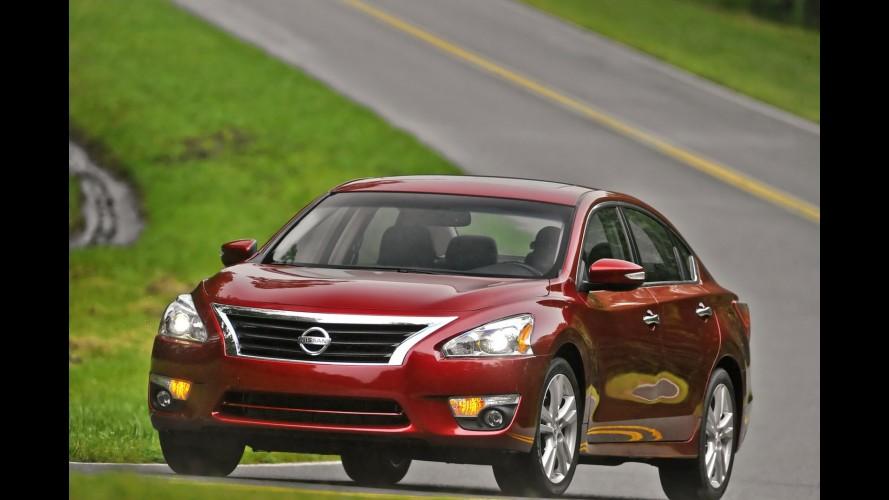 Nissan comemora 4 milhões de Altima vendidos nos EUA