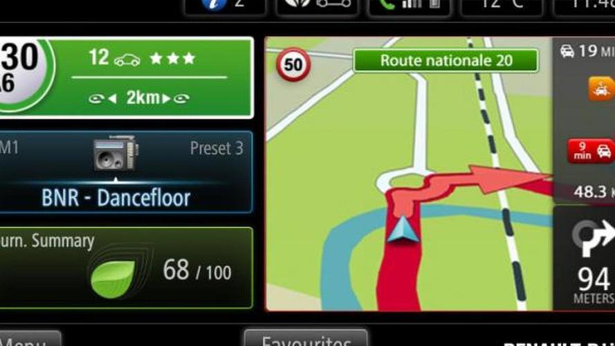 Renault R-Link multimedia tablet announced [video]
