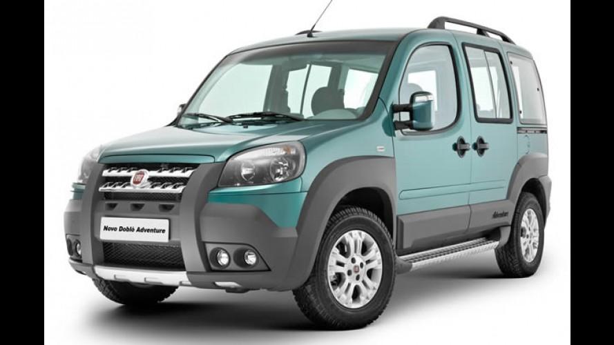 Fiat lança o novo Doblò 2010 com novo design e novas versões - Veja fotos
