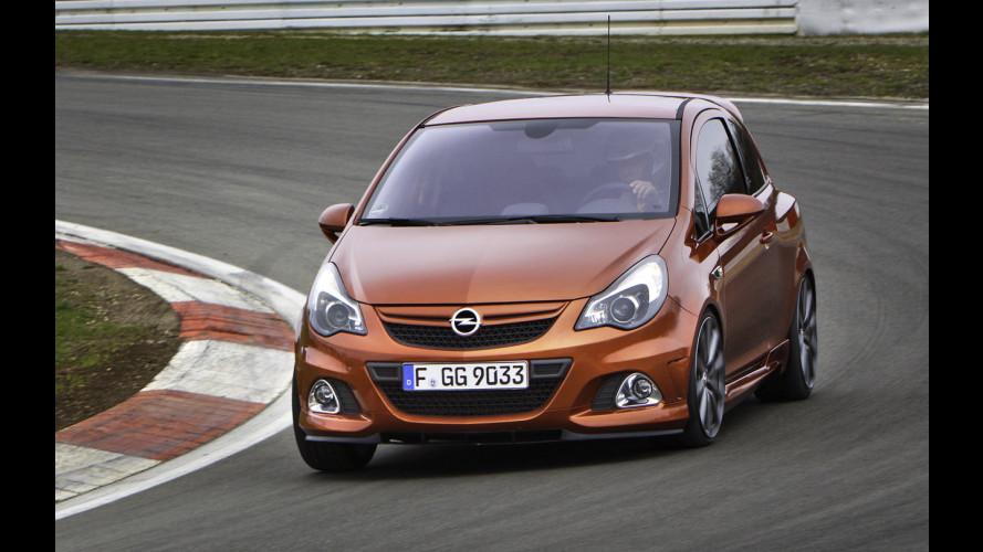 Opel Corsa OPC Nurburgring, la Corsa da corsa!
