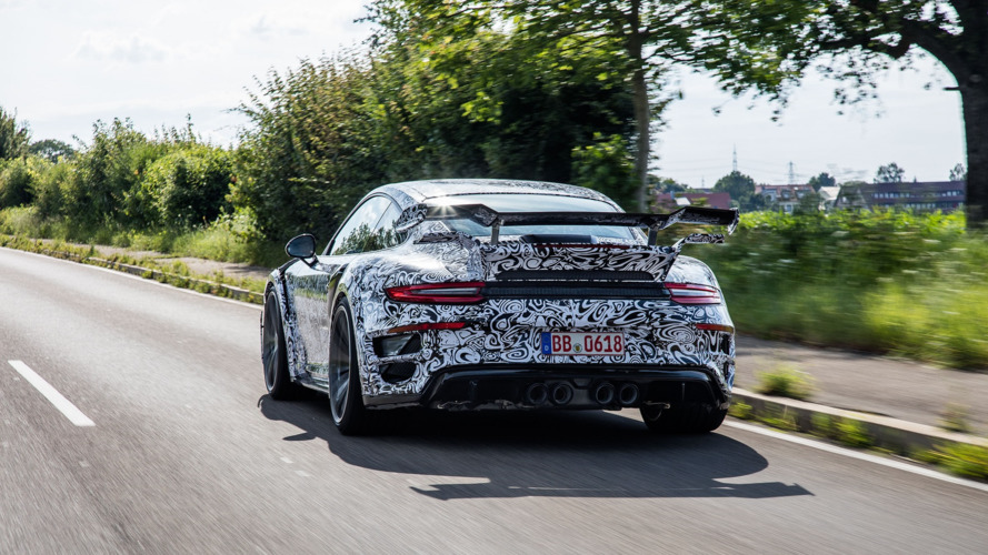Porsche 911 Turbo S-based Techart GTstreet R revealed in camo