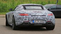 Mercedes-AMG GT C Roadster spy photo