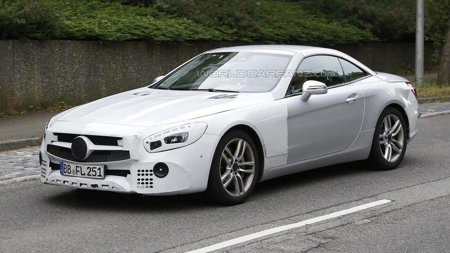 Mercedes-Benz SL facelift continues to hide minor design tweaks in latest spy shots