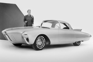 The 1956 Oldsmobile Golden Rocket Was a Retro-Futuristic Wonder Machine
