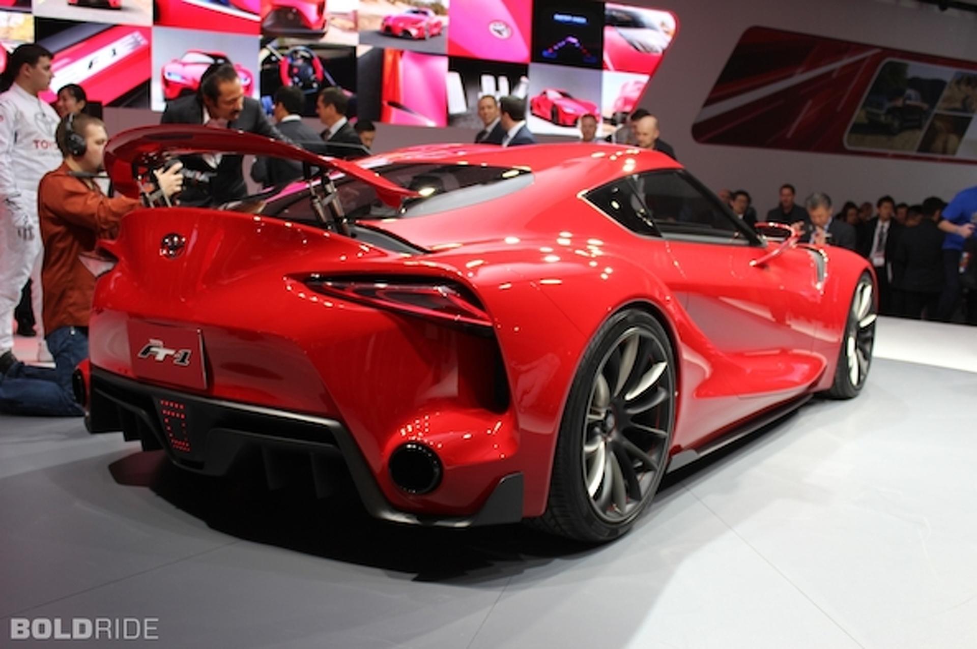 Toyota Trademarks 'Supra' Nameplate — New Sportscar on the Way?