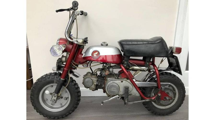 Imagine Owning John Lennon's Honda Z50