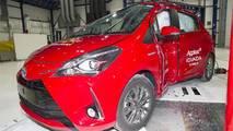 2017 Toyota Yaris Euro NCAP