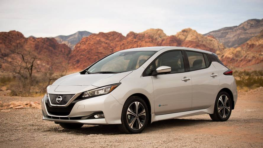 2018 Nissan LEAF Selling At Rate Of One Every Ten Minutes