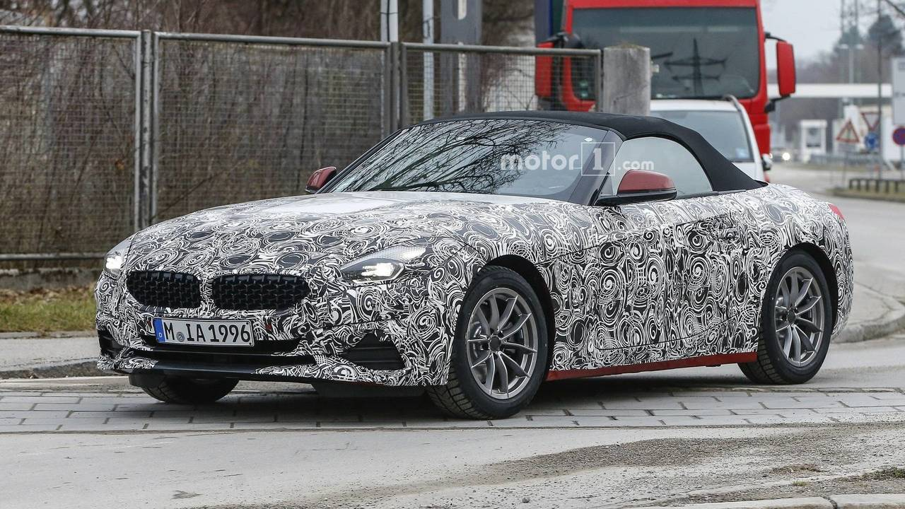 Bmw Z4 Toyota Supra Spied Showing Their Sexy Rear Ends