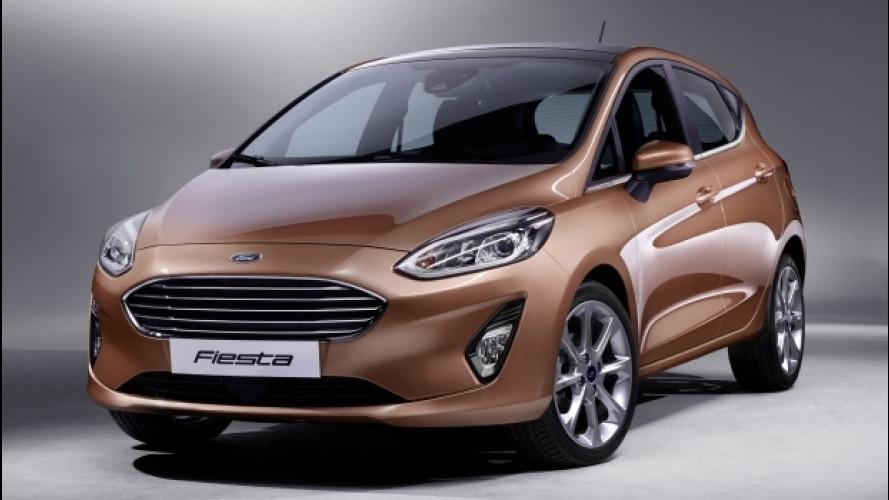 Nuova Ford Fiesta, a tutta tecnologia
