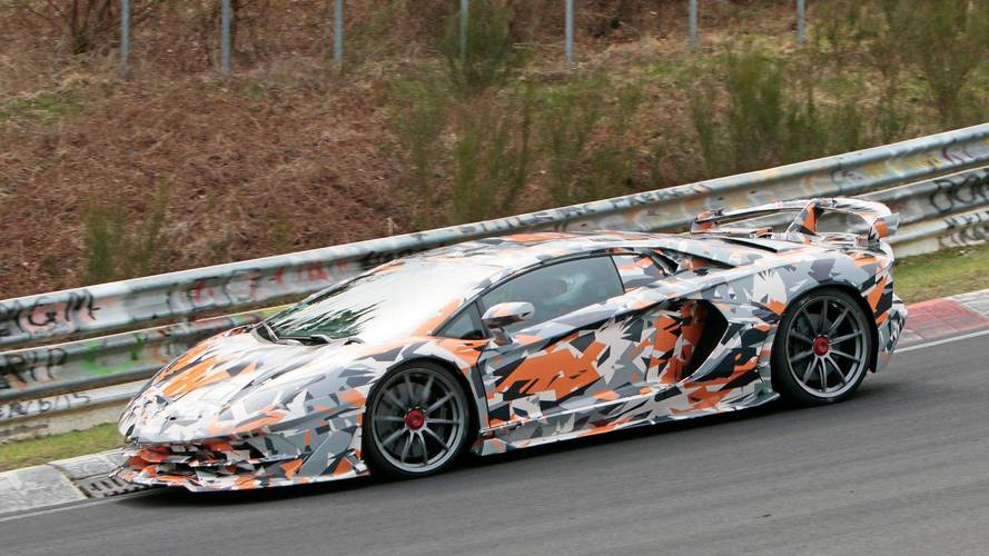 Lamborghini Aventador SVJ reveal to include Nurburgring record?