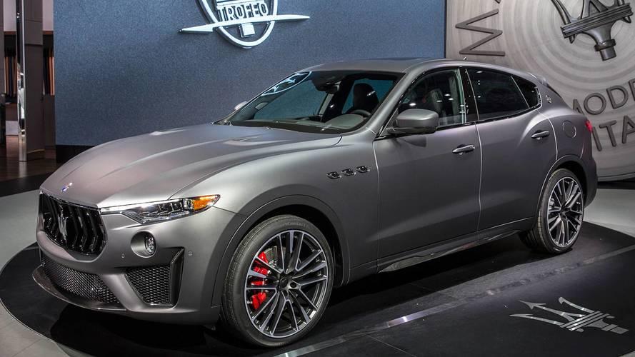 Maserati Levante Trofeo V8 al Salone di New York