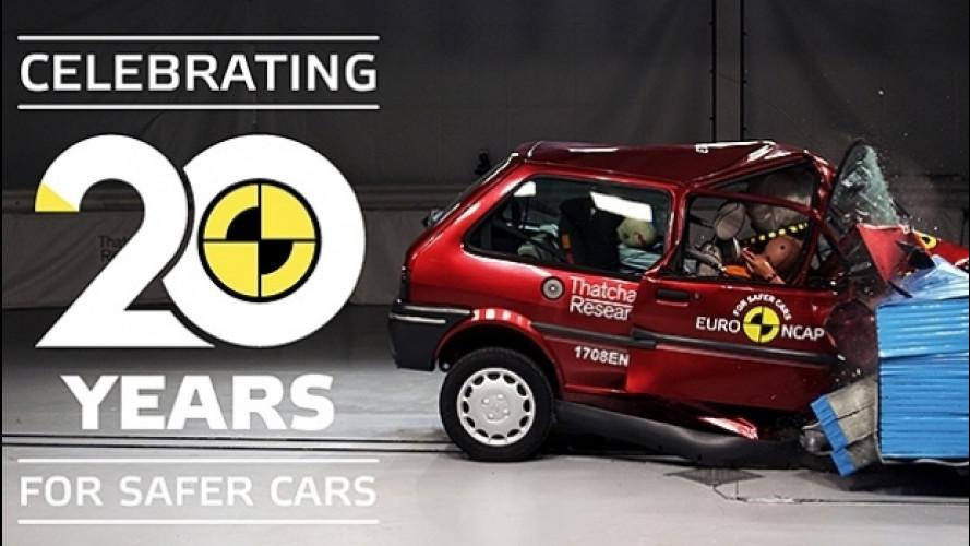 Crash test, i primi vent'anni dell'Euro NCAP