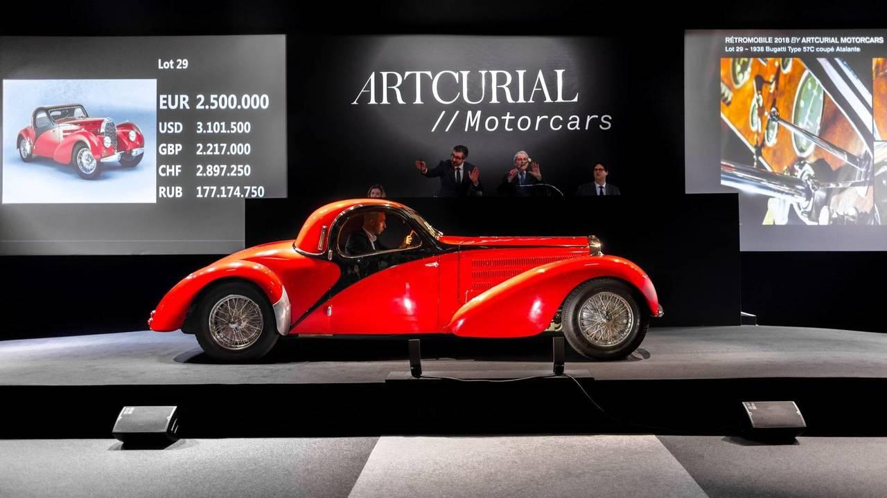 Bugatti Type 57C Coupé Atalante (1938)