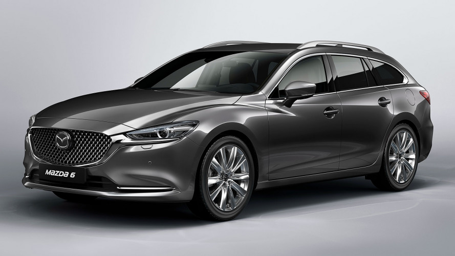 Mazda6 Wagon restyling, le foto in anteprima