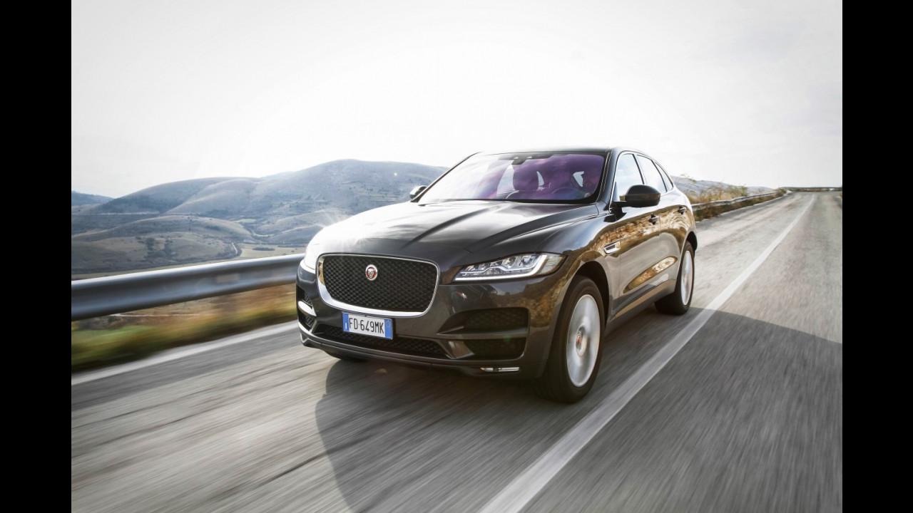 Drive in Italy | Gran Sasso, Jaguar F-Pace 021