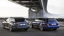 2001 Audi RS Avant and 2018 Audi RS4 Avant